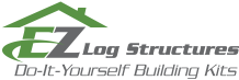 EZ Log Structures logo